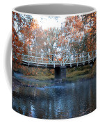 West Valley Green Road Bridge Along The Wissahickon Creek Coffee Mug by Bill Cannon