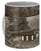 West Virginia Sepia Coffee Mug