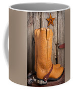 Western Boots And Spurs Coffee Mug