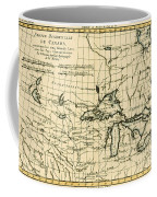 Western Canada And The Five Great Lakes Coffee Mug by Guillaume Raynal