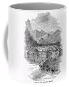 Western Fort, 19th Century Coffee Mug