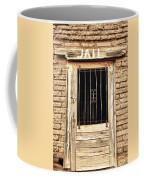 Western Jail House Door Coffee Mug