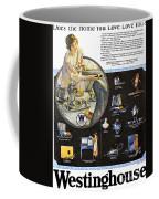 Westinghouse Ad, 1925 Coffee Mug by Granger