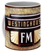 Westinghouse Fm Logo Coffee Mug
