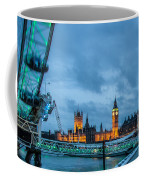 Westminster And The London Eye Coffee Mug