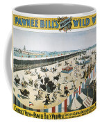W.f.cody Poster, 1894 Coffee Mug