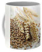 Wheat Ears And Grain Coffee Mug by Elena Elisseeva
