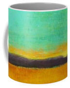 Wheat Field At Sunset Coffee Mug
