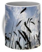 Wheat With Blue Sky Coffee Mug