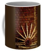 Wheel Against Wall Coffee Mug