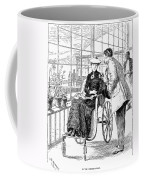 Wheelchair, 1886 Coffee Mug