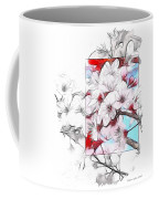 When The Almond Trees Are In Blossom  Coffee Mug