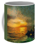 When The Sun Mets The Sea Coffee Mug