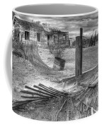 Where Does The Story End Monochrome Coffee Mug