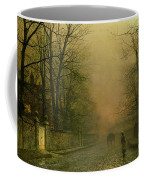 Where The Pale Moonbeams Linger  Coffee Mug by John Atkinson Grimshaw