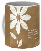 Where Your Heart Is Coffee Mug by Linda Woods