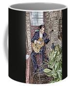 While My Guitar Gently Weeps Coffee Mug