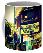 Whisky A Go Go Bar On Sunset Boulevard Coffee Mug