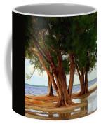 Whispering Trees Of Sanibel Coffee Mug by Karen Wiles