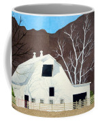 White Barn Coffee Mug