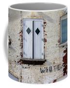 White Brick Coffee Mug