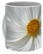 White Cosmos Coffee Mug
