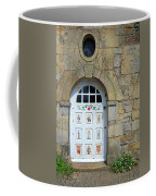 White Door Provence France Coffee Mug
