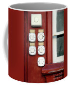 White Doorbells Coffee Mug