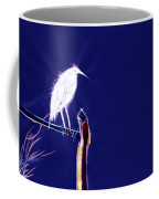 White Egret Coffee Mug