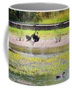 White Faced Ibis 15 Minute War Coffee Mug