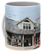 White Flash Gasoline Coffee Mug