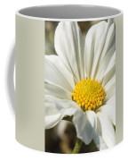 White Flower Coffee Mug by Carol Groenen