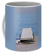 White Frost Diving Board Coffee Mug