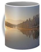 White Frost Landscape Coffee Mug