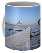 White Frost Slide Coffee Mug