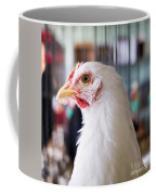 White Hen Coffee Mug