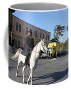 White Horse In Bethlehem Street Coffee Mug