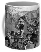 White House: Easter, 1887 Coffee Mug