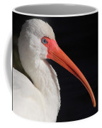 White Ibis Portrait Coffee Mug