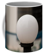 White Lamp With Some Rain Drops Still Clinging On It Coffee Mug