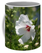 White Linen Coffee Mug