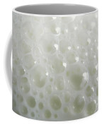 White Milk Bubbles Coffee Mug