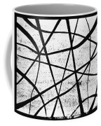 White On Black Coffee Mug
