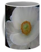White Poppy Two Coffee Mug
