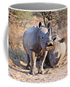 White Rhinoceros Coffee Mug