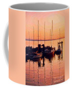 White Rock Sailboats Hdr Coffee Mug