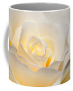 White Rose Blooming Coffee Mug