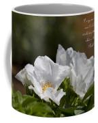 White Roses - Purge Me With Hyssop Coffee Mug