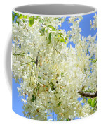 White Shower Tree Coffee Mug