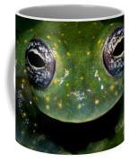 White Spotted Glass Frog Coffee Mug